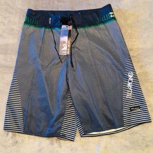 Billabong Board Shorts NWT Mens Size 34 Blue